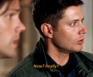 dean winchester, sam winchester, and gif image