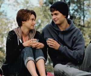 the fault in our stars and ansel elgort image