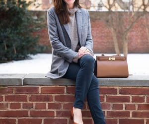 bag, classic, and heels image