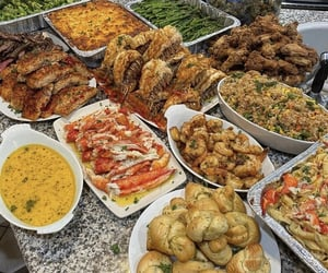 buffet, food, and steak image