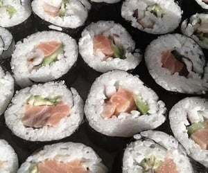 food, pic, and sushi image