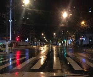 chuva, rain, and rua image