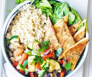 fit, healthy eating, and healthy food image