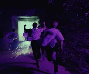 purple, straykids, and Easy image