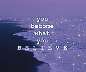 believe, blue, and glitter image