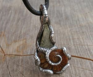 etsy, rustic necklace, and ancient necklace image