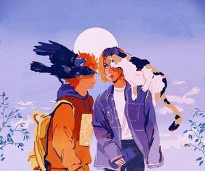 animal, anime, and artwork image
