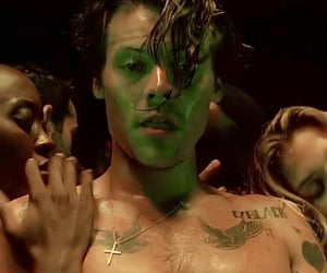 music video, Tattoos, and Harry Styles image
