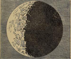 astrology, moon, and tarot image
