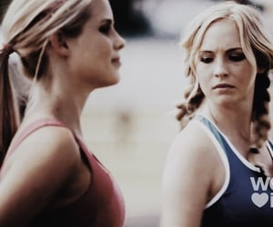 blonde, vampire, and mystic falls image
