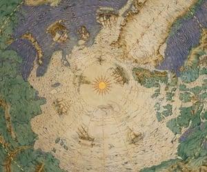 maps, mural, and self-reblog image
