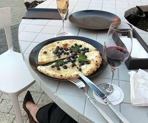 aesthetics, pizza, and tasty image