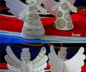 angels, decor, and etsy image