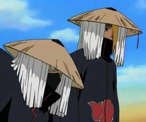 akatsuki, cloak, and naruto image