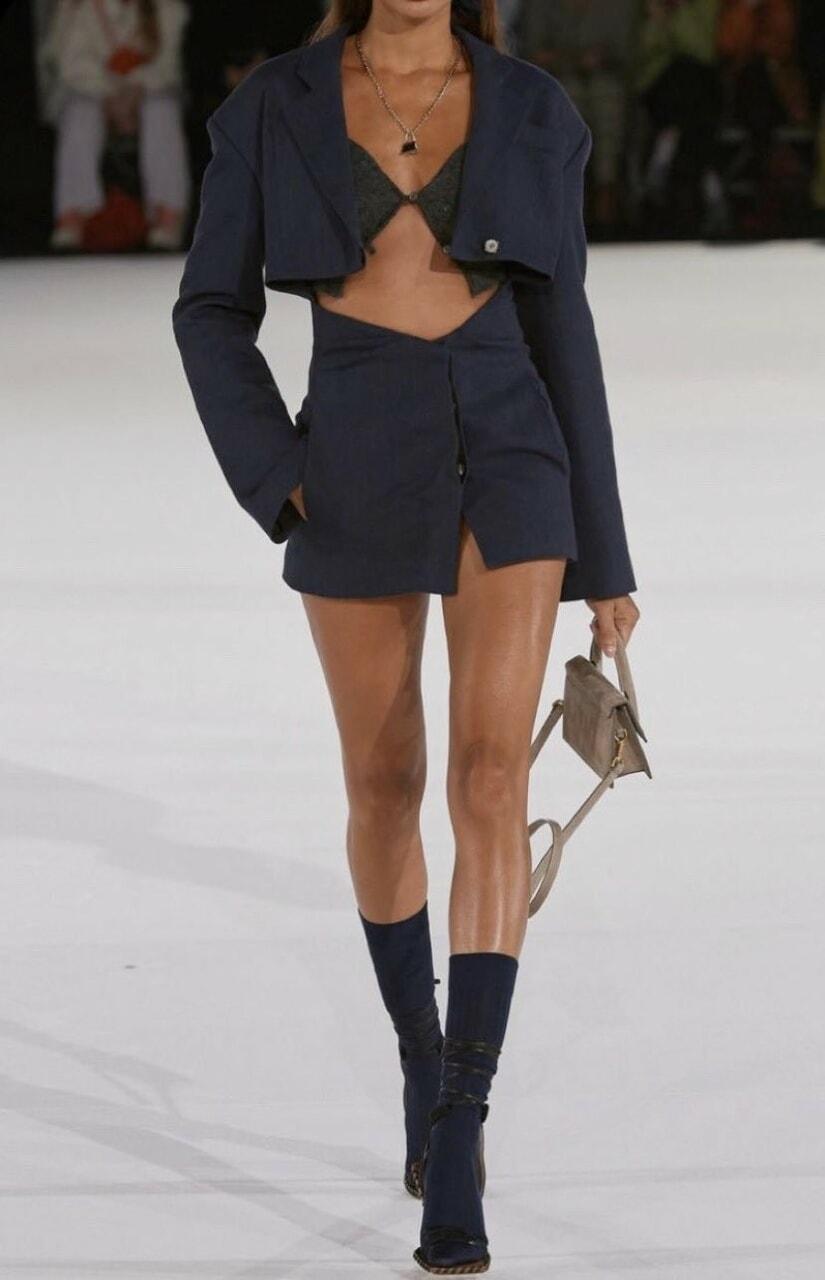 fashion, jacquemus, and girl image