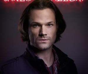 sam winchester, supernatural, and happy birthday jared image