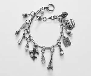 charm bracelet, paris bracelet, and paris jewelry image