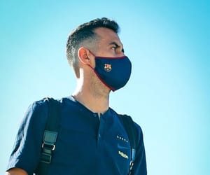 fc barcelona, spain nt, and sergio busquets image
