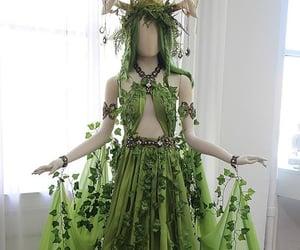 fairy, leaf, and leafy image