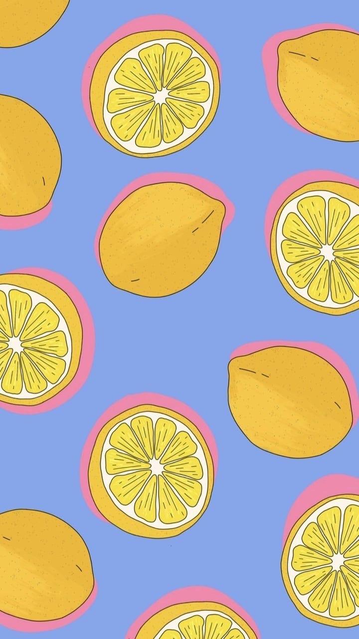 wallpaper, lemon, and background image