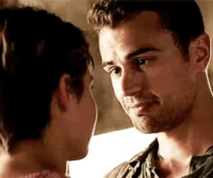 couple, theo james, and four image