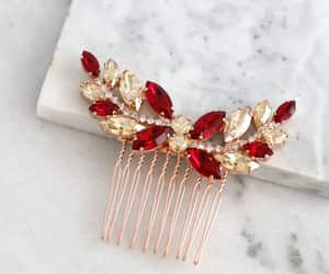 hair accessories, hair jewelry, and bridal headpiece image