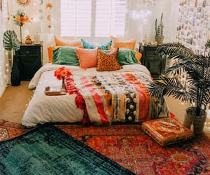 colorful, bedroom inspo, and cute image