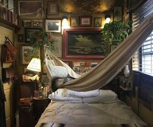 art, bedroom decor, and cozy image