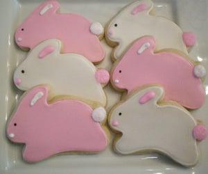 bunny, Cookies, and kawaii image