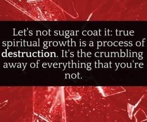 soul initiation, broken open, and don't sugar coat it image