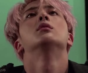 jin, kpop, and wings image