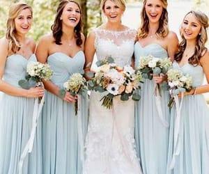 bridesmaid dress and wedding party dress image