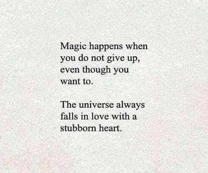 don't give up, magic, and motivation image