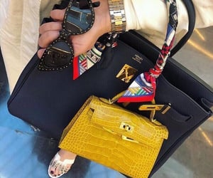 bag, Birkin, and chic image