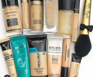 collection, Foundation, and makeup image