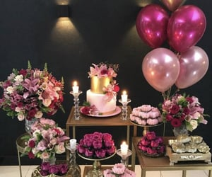 birthday, cakes, and party image