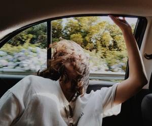 car, girls, and hair image