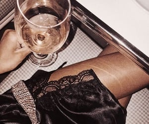 fashion, drink, and wine image