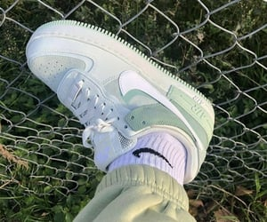 green, shoes, and nike image