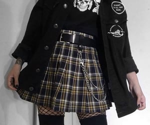 style, black, and emo image