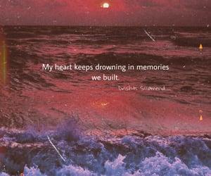 broken, heart, and heartache image