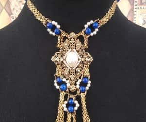 etsy, antique jewelry, and designer necklace image