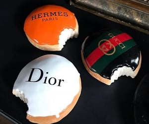 dior, fashion, and food image