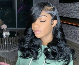 frontal, lace front, and lace front wig image