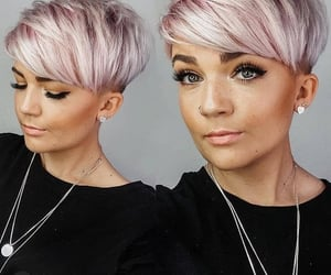 pixie hair cut and short hair styles image