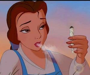 princess, disney, and weed image