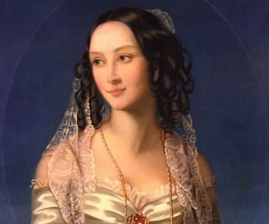 art, lady, and jewelry image