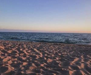 adventure, alone, and beach image