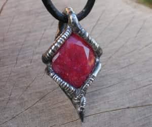 etsy, handmade, and gemstone necklace image
