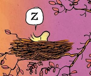 bird, cartoon, and woodstock image